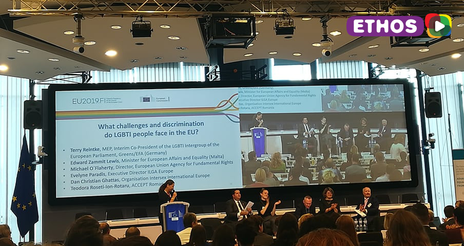 "E.T.Ho.S participated in the ""High level Conference on Advancing LGBTI equality in the EU: from 2020 and beyond"""