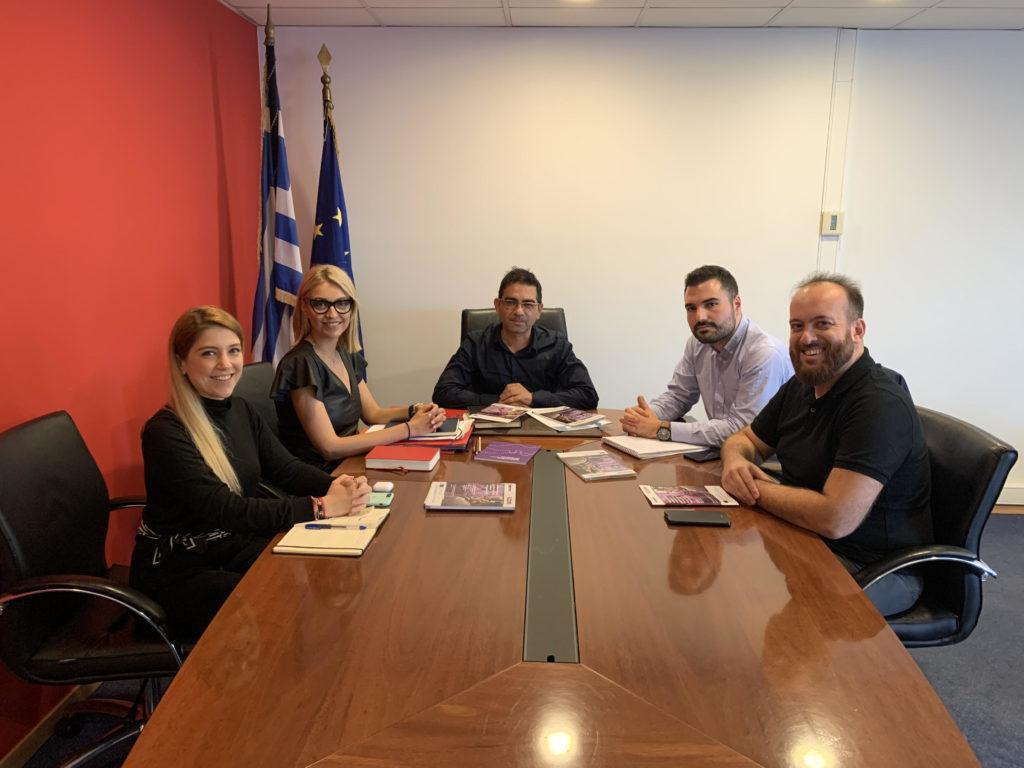Συνάντηση με τον Γενικό Γραμματέα Κοινωνικής Αλληλεγγύης και Καταπολέμησης της Φτώχειας