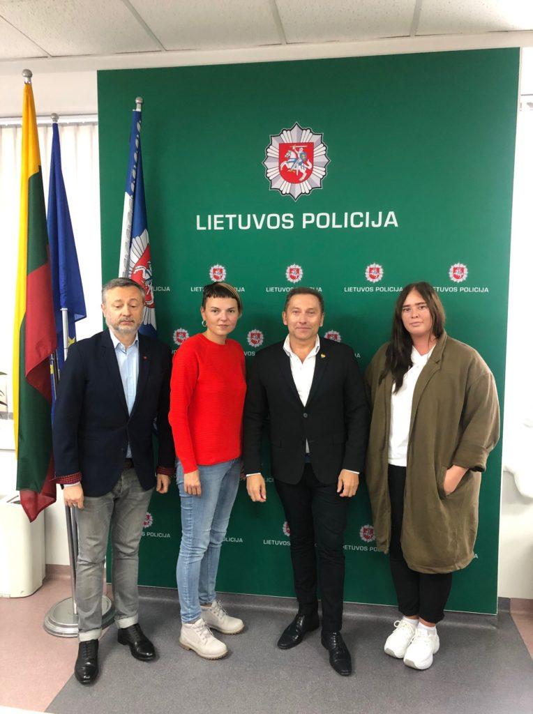 LGL susitiko su Lietuvos policijos atstovais
